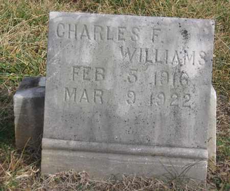 WILLIAMS, CHARLES F. - Hamblen County, Tennessee | CHARLES F. WILLIAMS - Tennessee Gravestone Photos