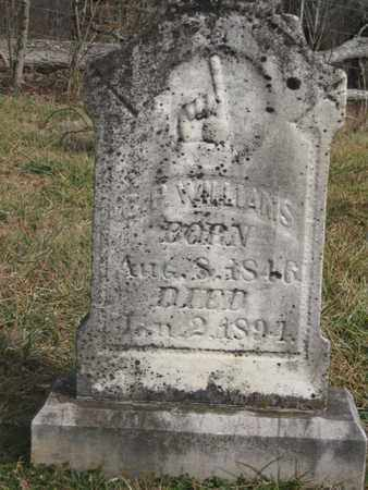 WILLIAMS, CHARLES PORTER - Hamblen County, Tennessee | CHARLES PORTER WILLIAMS - Tennessee Gravestone Photos