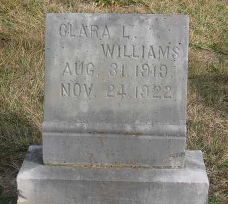 WILLIAMS, CLARA L. - Hamblen County, Tennessee | CLARA L. WILLIAMS - Tennessee Gravestone Photos