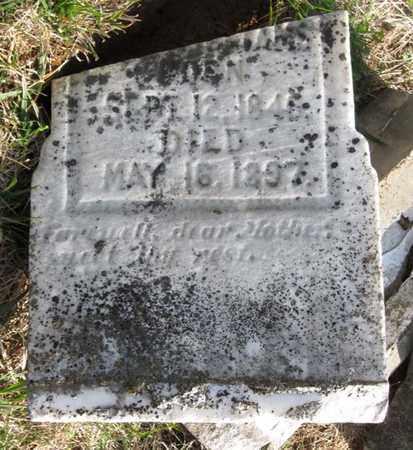 WISECARVER WILLIAMS, MARIAH J. (BOTTOM) - Hamblen County, Tennessee | MARIAH J. (BOTTOM) WISECARVER WILLIAMS - Tennessee Gravestone Photos