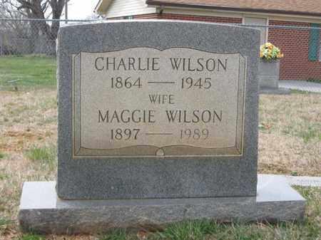 WILSON, MAGGIE - Hamblen County, Tennessee | MAGGIE WILSON - Tennessee Gravestone Photos