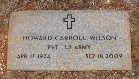 WILSON  (VETERAN), HOWARD CARROLL - Hamblen County, Tennessee | HOWARD CARROLL WILSON  (VETERAN) - Tennessee Gravestone Photos