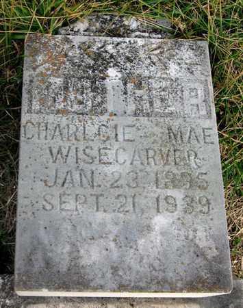 WISECARVER, CHARLCIE MAE - Hamblen County, Tennessee   CHARLCIE MAE WISECARVER - Tennessee Gravestone Photos