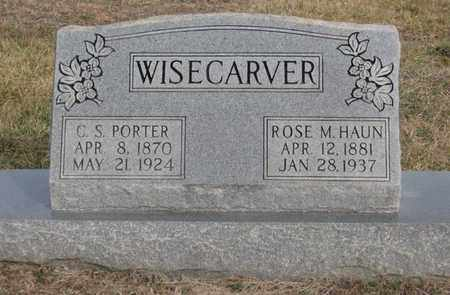 WISECARVER, ROSE M. - Hamblen County, Tennessee | ROSE M. WISECARVER - Tennessee Gravestone Photos