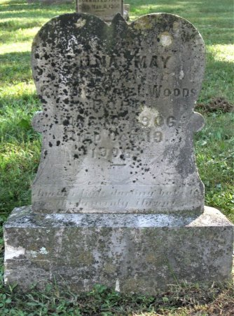 WOODS, EDNA MAY - Hamblen County, Tennessee | EDNA MAY WOODS - Tennessee Gravestone Photos