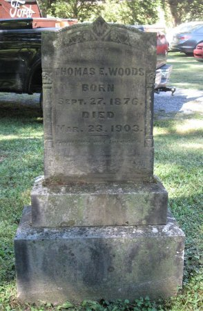 WOODS, THOMAS E. - Hamblen County, Tennessee | THOMAS E. WOODS - Tennessee Gravestone Photos
