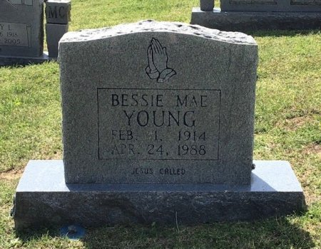 YOUNG, BESSIE MAE - Hamblen County, Tennessee | BESSIE MAE YOUNG - Tennessee Gravestone Photos