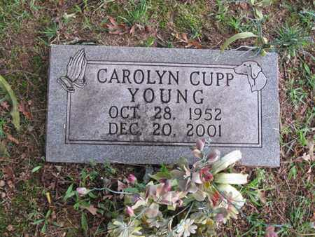 YOUNG, CAROLYN - Hamblen County, Tennessee | CAROLYN YOUNG - Tennessee Gravestone Photos