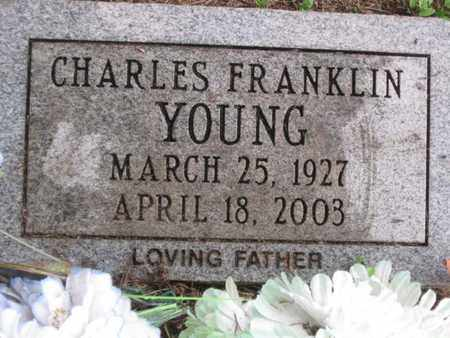 YOUNG, CHARLES FRANKLIN - Hamblen County, Tennessee | CHARLES FRANKLIN YOUNG - Tennessee Gravestone Photos