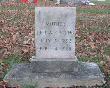 YOUNG, DELLIA P. - Hamblen County, Tennessee | DELLIA P. YOUNG - Tennessee Gravestone Photos