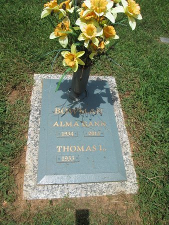 BOWMAN, ALMA - Hamilton County, Tennessee   ALMA BOWMAN - Tennessee Gravestone Photos