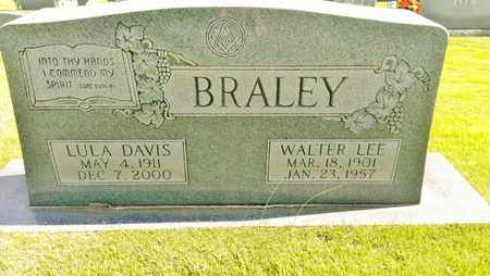 BRALEY, WALTER LEE - Hamilton County, Tennessee | WALTER LEE BRALEY - Tennessee Gravestone Photos