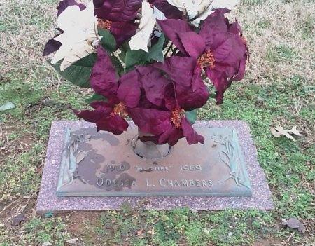 BURROUGHS CHAMBERS, ODESSA AMELIA LOUISE - Hamilton County, Tennessee | ODESSA AMELIA LOUISE BURROUGHS CHAMBERS - Tennessee Gravestone Photos
