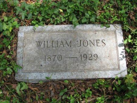 JONES, WILLIAM - Hamilton County, Tennessee | WILLIAM JONES - Tennessee Gravestone Photos