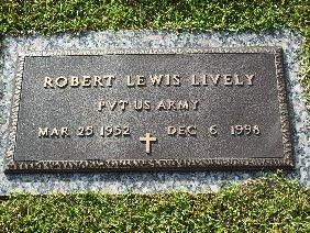 LIVELY (VETERAN), ROBERT LEWIS - Hamilton County, Tennessee | ROBERT LEWIS LIVELY (VETERAN) - Tennessee Gravestone Photos