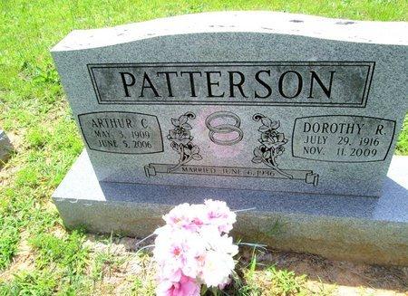 PATTERSON, ARTHUR C. - Hamilton County, Tennessee | ARTHUR C. PATTERSON - Tennessee Gravestone Photos