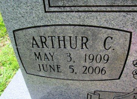 PATTERSON, ARTHUR C. (CLOSE UP) - Hamilton County, Tennessee | ARTHUR C. (CLOSE UP) PATTERSON - Tennessee Gravestone Photos