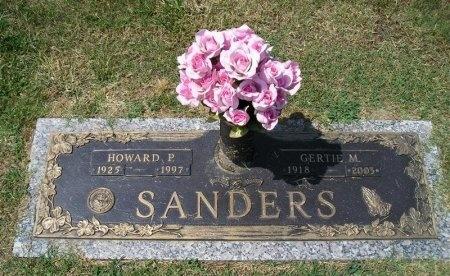 BELK SANDERS, GERTIE MAE - Hamilton County, Tennessee   GERTIE MAE BELK SANDERS - Tennessee Gravestone Photos