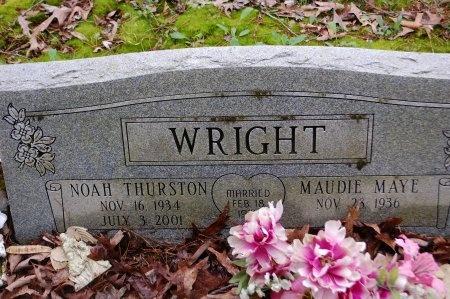 WRIGHT, NOAH THURSTON - Hamilton County, Tennessee | NOAH THURSTON WRIGHT - Tennessee Gravestone Photos