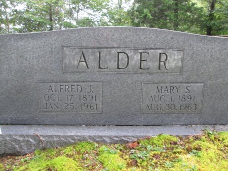 ALDER, ALFRED J. - Hancock County, Tennessee | ALFRED J. ALDER - Tennessee Gravestone Photos