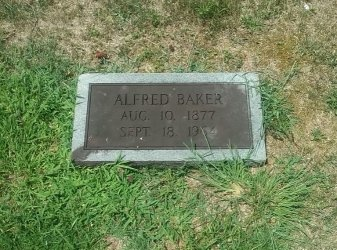 BAKER, ALFRED - Hancock County, Tennessee | ALFRED BAKER - Tennessee Gravestone Photos