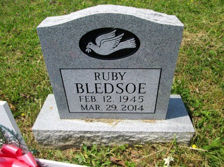 BLEDSOE, RUBY IRENE - Hancock County, Tennessee | RUBY IRENE BLEDSOE - Tennessee Gravestone Photos