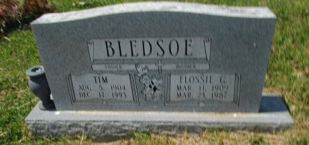 BLEDSOE, FLOSSIE G. - Hancock County, Tennessee | FLOSSIE G. BLEDSOE - Tennessee Gravestone Photos