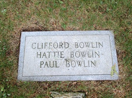 BOWLIN, PAUL - Hancock County, Tennessee | PAUL BOWLIN - Tennessee Gravestone Photos