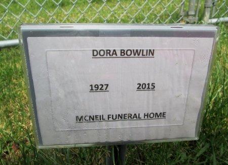BOWLIN, DORA - Hancock County, Tennessee   DORA BOWLIN - Tennessee Gravestone Photos