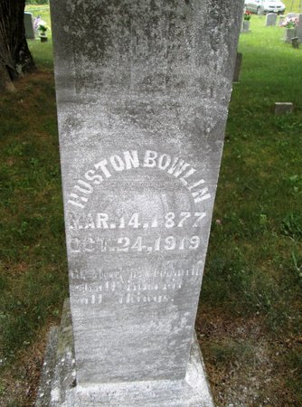 BOWLIN, HUSTON - Hancock County, Tennessee | HUSTON BOWLIN - Tennessee Gravestone Photos