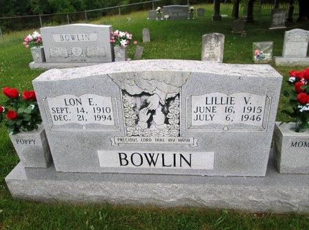 BOWLIN, LON E. - Hancock County, Tennessee   LON E. BOWLIN - Tennessee Gravestone Photos