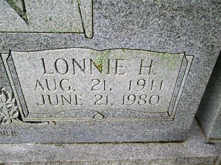 BOWLIN, LONNIE H. (CLOSE UP) - Hancock County, Tennessee   LONNIE H. (CLOSE UP) BOWLIN - Tennessee Gravestone Photos