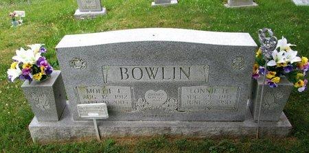 BOWLIN, LONNIE H. - Hancock County, Tennessee | LONNIE H. BOWLIN - Tennessee Gravestone Photos