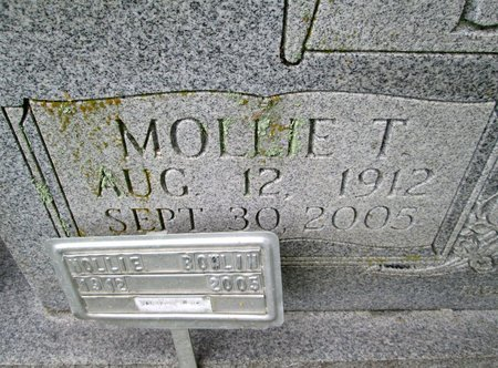 BOWLIN, MOLLIE (CLOSE UP) - Hancock County, Tennessee | MOLLIE (CLOSE UP) BOWLIN - Tennessee Gravestone Photos