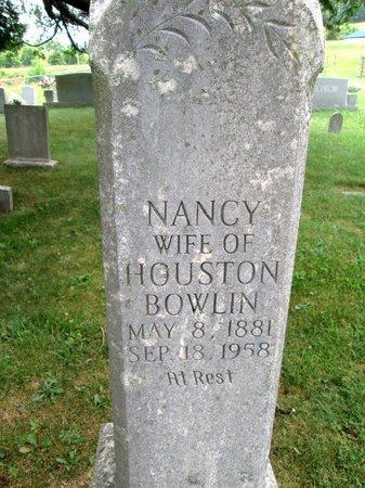 BOWLIN, NANCY - Hancock County, Tennessee | NANCY BOWLIN - Tennessee Gravestone Photos