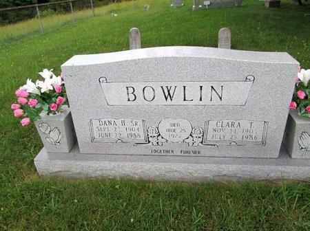BOWLIN, CLARA T. - Hancock County, Tennessee   CLARA T. BOWLIN - Tennessee Gravestone Photos