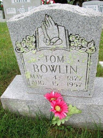 BOWLIN, TOM - Hancock County, Tennessee | TOM BOWLIN - Tennessee Gravestone Photos