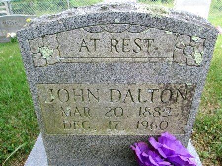DALTON, JOHN - Hancock County, Tennessee | JOHN DALTON - Tennessee Gravestone Photos