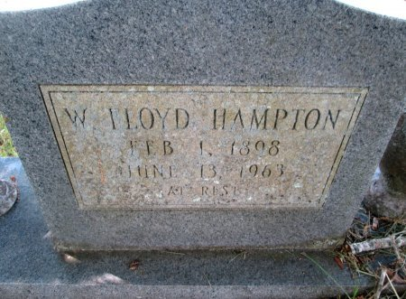 HAMPTON, WILLIAM FLOYD - Hancock County, Tennessee | WILLIAM FLOYD HAMPTON - Tennessee Gravestone Photos