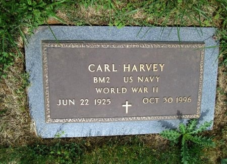 HARVEY (VETERAN WWII), CARL - Hancock County, Tennessee   CARL HARVEY (VETERAN WWII) - Tennessee Gravestone Photos