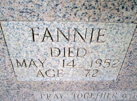 JORDON, FANNIE (CLOSE UP) - Hancock County, Tennessee | FANNIE (CLOSE UP) JORDON - Tennessee Gravestone Photos