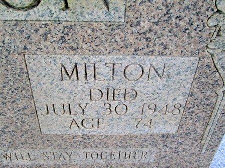 JORDON, MILTON (CLOSE UP) - Hancock County, Tennessee | MILTON (CLOSE UP) JORDON - Tennessee Gravestone Photos
