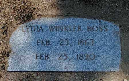ROSS, LYDIA - Hancock County, Tennessee | LYDIA ROSS - Tennessee Gravestone Photos