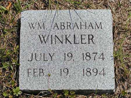 WINKLER, WILLIAM ABRAHAM - Hancock County, Tennessee | WILLIAM ABRAHAM WINKLER - Tennessee Gravestone Photos