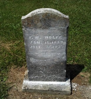 WOLFE, F. M. - Hancock County, Tennessee | F. M. WOLFE - Tennessee Gravestone Photos