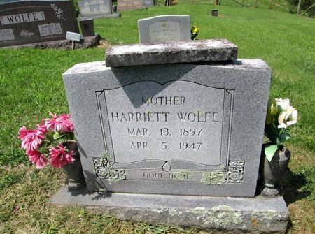 WOLFE, HARRIET - Hancock County, Tennessee | HARRIET WOLFE - Tennessee Gravestone Photos