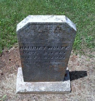 WOLFE, HARRIET - Hancock County, Tennessee   HARRIET WOLFE - Tennessee Gravestone Photos