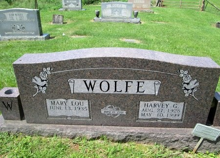 WOLFE, HARVEY G. - Hancock County, Tennessee | HARVEY G. WOLFE - Tennessee Gravestone Photos
