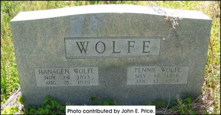 "WOLFE, TENNESSEE AMANDA ""TENNIE"" - Hancock County, Tennessee | TENNESSEE AMANDA ""TENNIE"" WOLFE - Tennessee Gravestone Photos"