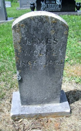 WOLFE, JAMES - Hancock County, Tennessee | JAMES WOLFE - Tennessee Gravestone Photos